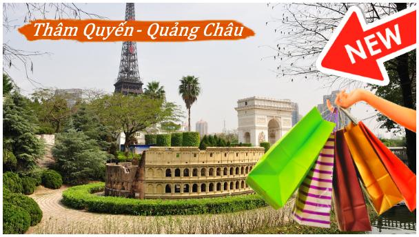 Tour Thâm Quyến - Quảng Châu