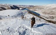 Mông Cổ vẻ đẹp trong trắng cửa mùa đông