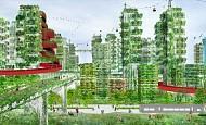 Trung Quốc xây dựng thành phố rừng đầu tiên chống ô nhiễm