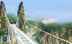 Cầu sàn kính dài nhất thế giới - Trung Quốc