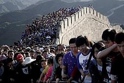Số lượng người dân Trung Quốc đi du lịch nhân dịp Quốc khánh tăng mạnh