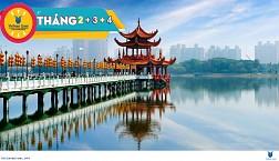 Tou Đài Bắc - Đài Trung Cao Hùng 5 Ngày