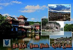Tour Du Lịch Trung Quốc : Hà Nội - Nam Ninh - Quế Lâm Ngày 12 & 26 Tháng 5 Năm 2016