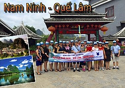 Tour Du Lịch Trung Quốc : Nam Ninh - Quế Lâm dịp Tết Dương Lịch