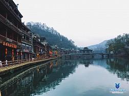 Tour Trương Gia Giới - Phượng Hoàng Cổ Trấn bằng máy bay KH 17/12/2017