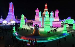 Có một thành phố băng giá tại Trung Quốc