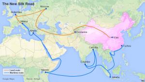 Con đường tơ lụa của Trung Quốc được xây dựng và đầu tư mạnh tay
