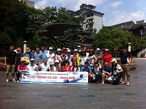 Đoàn Công ty Cổ Phần Quản lí Đầu Tư Tài Chính Dầu Khí Việt Nam Du Lịch Trương Gia Giới Ngày 24/6 - 28/6/2015
