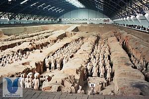 Lăng mộ Tần Thủy Hoàng cùng các tượng binh mã