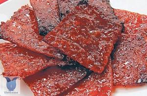 Nhục can - Thịt sấy khô