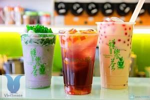Trà sữa trân châu - Đài Loan
