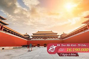 Bắc Kinh - Tô Châu - Hàng Châu - Thượng Hải - Bay Vietnam Airlines