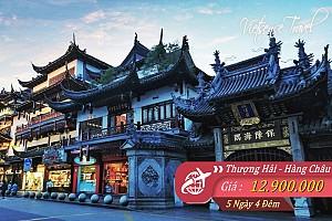 Thượng Hải - Hàng Châu - Ô Trấn 5 - Bay Vietnam Airlines