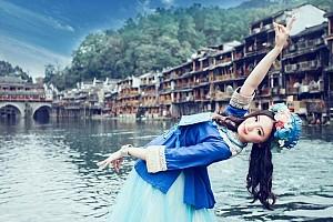 Trương Gia Giới - Phù Dung Trấn - Phượng Hoàng Cổ Trấn - Đi Máy Bay - Về Ô Tô