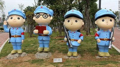 Công viên Trung Quốc: tôn vinh Đảng cộng sản
