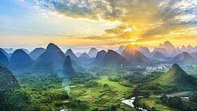 Đến với Quế Lâm không thể bỏ qua thị trấn Yangshuo
