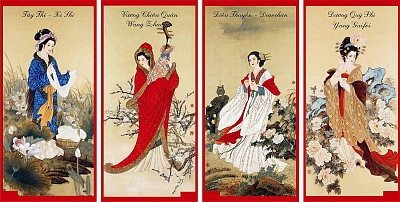 Điểm qua những tứ đại nổi danh của Trung Quốc