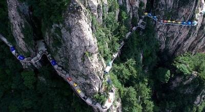 Lễ hội cắm trại trên độ cao 1000m tại Trung Quốc