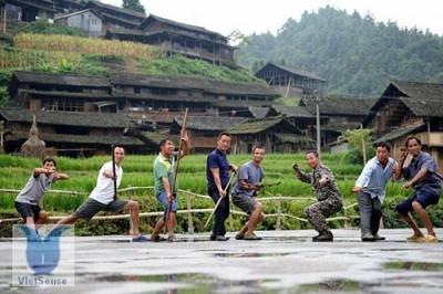Ngôi làng kung fu - Ganxi Dong