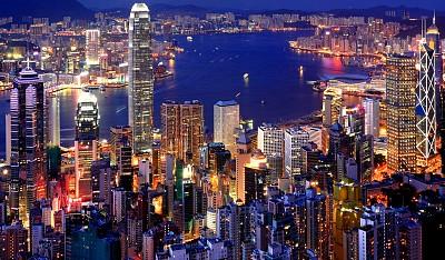 Những khu phố không ngủ ở Hong Kong