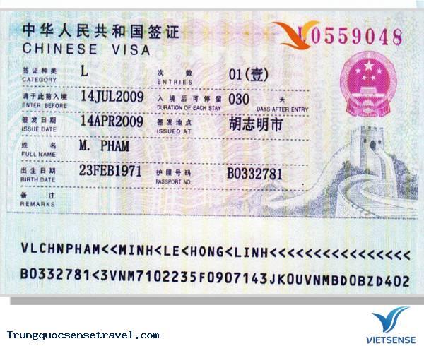 4 loại Visa Trung Quốc phổ biến nhất với người dân Việt Nam,4 loai visa trung quoc pho bien nhat voi nguoi dan viet nam