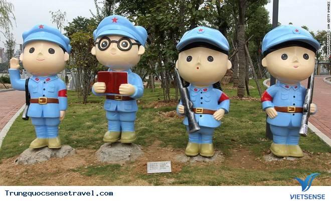Công viên Trung Quốc: tôn vinh Đảng cộng sản,cong vien trung quoc ton vinh dang cong san