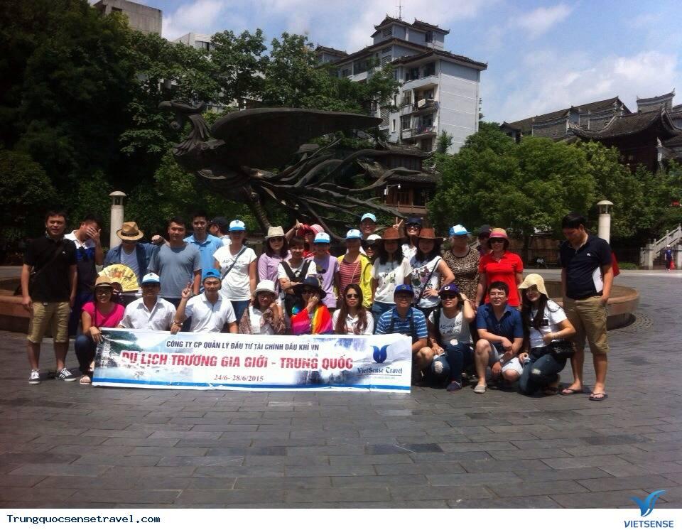 Đoàn Công ty Cổ Phần Quản lí Đầu Tư Tài Chính Dầu Khí Việt Nam Du Lịch Trương Gia Giới