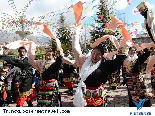 Độc đáo lễ hội sữa chua Shoton Tây Tạng,doc dao le hoi sua chua shoton tay tang