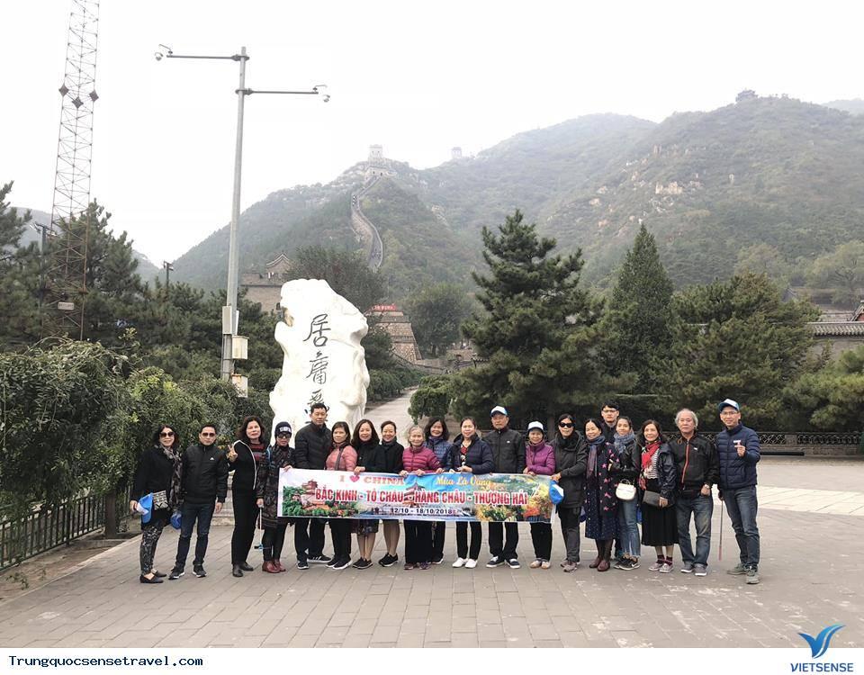 Hình ảnh đoàn Thượng Hải - Hàng Châu -  Tô Châu - Bắc Kinh 12/10/2018