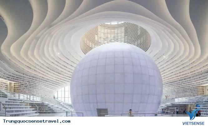 Kinh ngạc với hai thư viện khổng lồ ở Trung Quốc, 2018