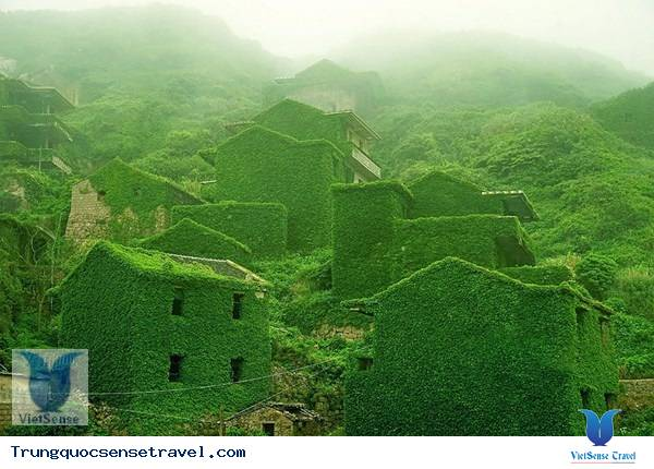 """Ngôi làng """"ma"""" ở Trung Quốc, du lich trung quoc"""