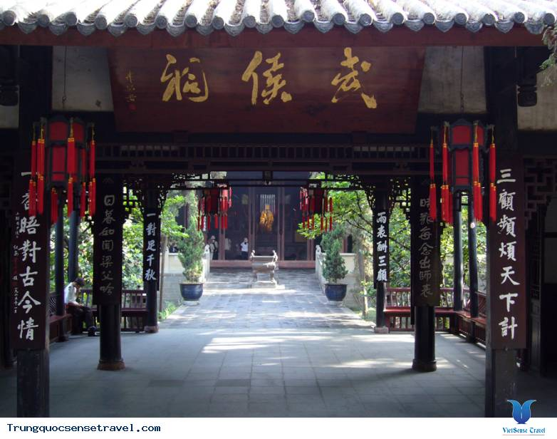 Những địa điểm quan trọng miêu tả nền văn hóa Thành Đô