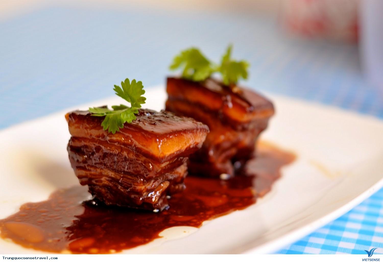 Thưởng thức món thịt kho Đông Pha của Trung Quốc,thuong thuc mon thit kho dong pha cua trung quoc