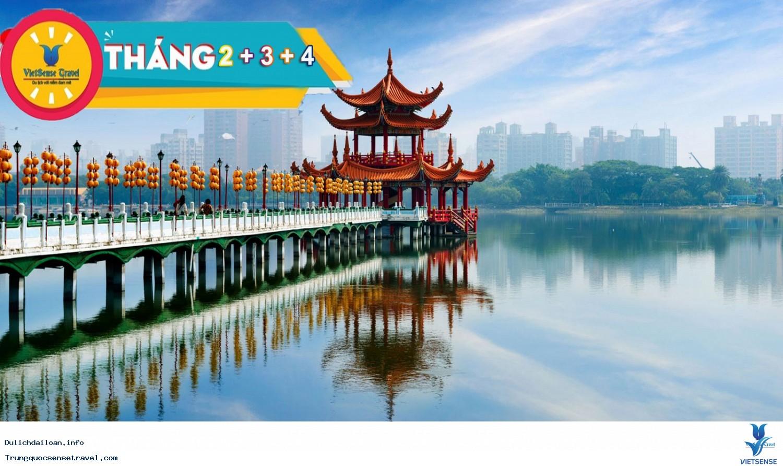 Tour Đài Loan - Đài Bắc - Đài Trung Cao Hùng 5 Ngày 2018
