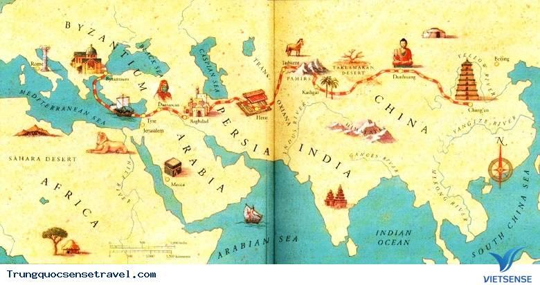 Tour Du Lịch Con Đường Tơ Lụa Trung Hoa