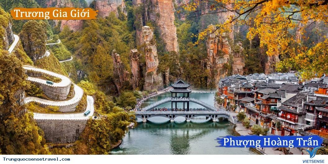 Tour Du Lịch Hà Nội - Trương Gia Giới - Phượng Hoàng Cổ Trấn 4 ngày 3 đêm