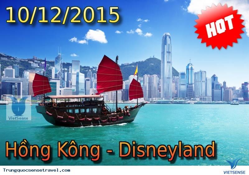 Tour Du Lịch Trung Quốc - Hồng Kông tháng 12, khám phá disneyland