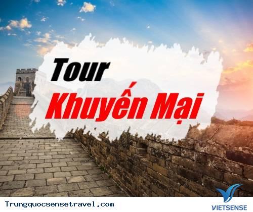 Tour du lịch Trung Quốc Khuyến Mại