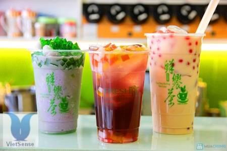 Trà sữa trân châu Đài Loan,tra sua tran chau dai loan